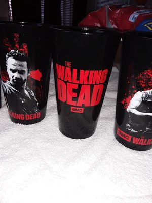 WALKING DEAD GLASSES NEW for Sale in Round Rock, TX