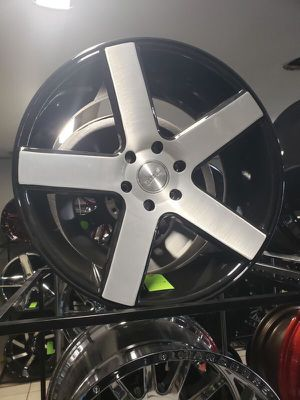 20x12 xf offroad wheels 8 lug 8x165 on new 33 1250 20 for Sale in Phoenix, AZ