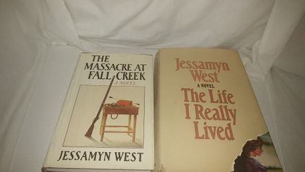 Lot of 2 Jessamyn West books: The Life I Really Lived, The Massacre at Fall Creek Used for Sale in La Habra,  CA