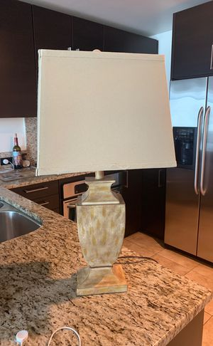 Gold lamp from home goods for Sale in San Diego, CA