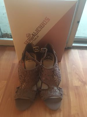 Fergalicious by Fergie sandals. Dusty mauve. Sz. 9 1/2. Worn once. for Sale in Montgomery Village, MD