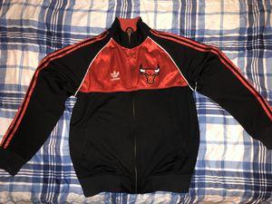 Chicago Bulls Adidas Jacket Men Vintage for Sale in Summit, IL