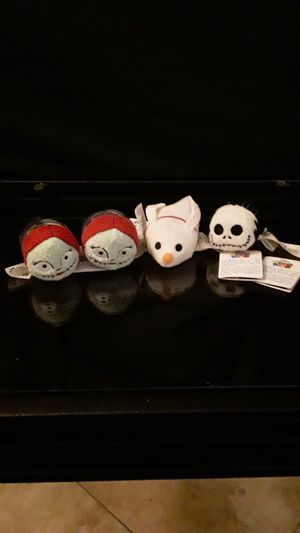 Nightmare Before Christmas Mini Tsum-Tsum Plushes for Sale in Houston, TX