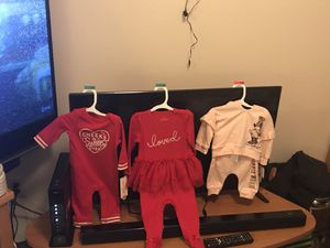 Baby clothes and accessories and toiletries for Sale in Portland, OR