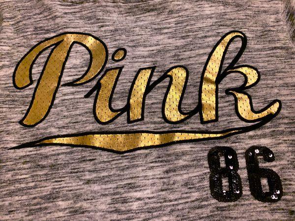 Victoria's Secret PINK Full-Zip Hoodie, lots of Bling!