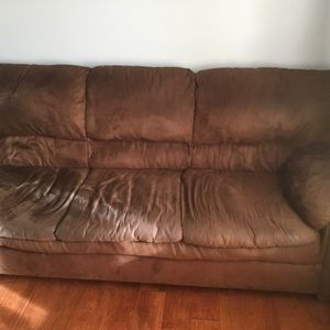 Brown Couch For Sale Plus Loveseat for Sale in Moon Township, PA