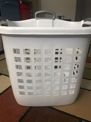 Laundry basket with wheels for Sale in Scottsdale, AZ