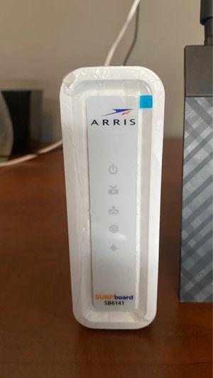 Arris surfboard sb6141 modem - asus dual band 3x3 802.11ac gigabit router for Sale in Las Vegas, NV