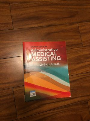Administrative Medical Assisting 8th Edition for Sale in Lomita, CA