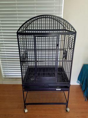 Medium size bird cage. for Sale in Miami, FL