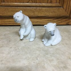LLADRO COLLECTIBLE POLAR BEAR FIGURINE SET - Very Sought After for Sale in Auburn,  WA