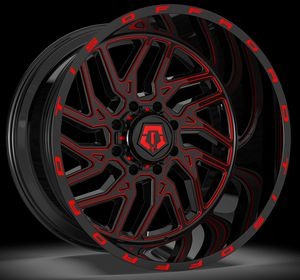 22x12 Tis 544bmr wheels special for Sale in Dixon, CA
