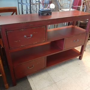 56x37x16 TV Stand Or Entryway table for Sale in Covington, GA