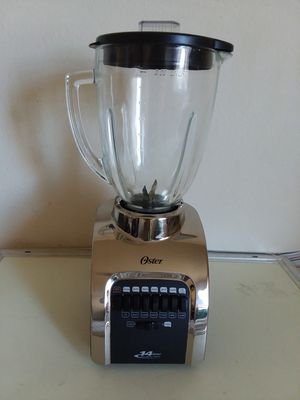 Oster 14 Speed All Metal Drive Blender 564A with Glass for Sale in Takoma Park, MD