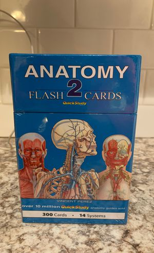 Anatomy 2 flash cards for Sale in Melvindale, MI