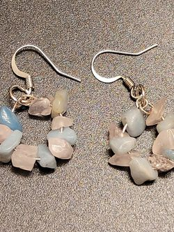 Moonstone And Amazonite Earrings for Sale in Magna,  UT