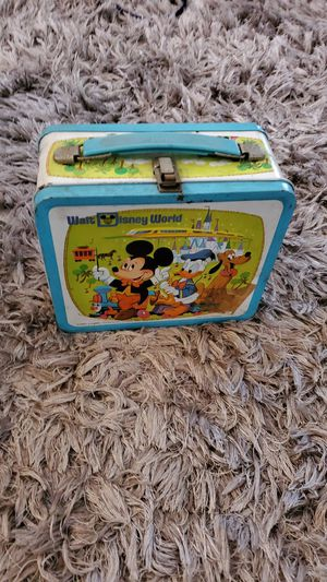 Walt Disney World Lunch Box Vintage Mickey Mouse Donald for Sale in Alhambra, CA