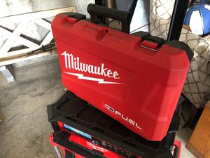 Milwaukee drill/impact case only for Sale in Blue Springs, MO