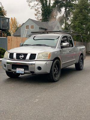 2004 Nissan Titan Crew Cab SE for Sale in Lakewood, WA
