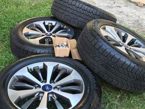2020 ford factory rims and tires whit TPS sensors all in new conditions for Sale in Clearwater, FL