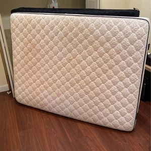 Queen Size Mattress & BoxSpring (bed frame optional for additional price) for Sale in Seattle, WA