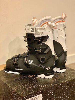 Salomon Xpro x pro x90 ski boots mondo 24 24.5 women us 7 7.5 for Sale in Mukilteo, WA