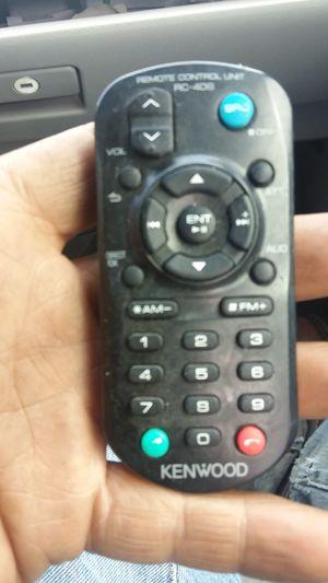 Kenwood remote control unit rc-406 for Sale in Arroyo Grande, CA