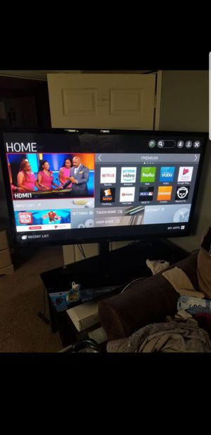 60 Inch LG Smart TV Used With Stand for Sale in Saint Clair Shores, MI