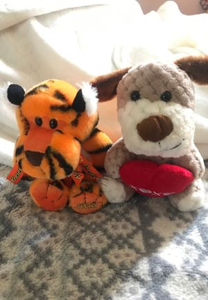 Reese's pieces tiger and hugs and kisses puppy for Sale in Elk Grove, CA