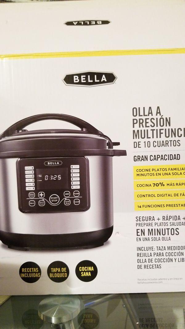 Bella 10 QT Digital Multi Cooker