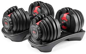 Bowflex selecttech 552 dumbbells - two adjustable dumbbells for Sale in Walnut Creek, CA