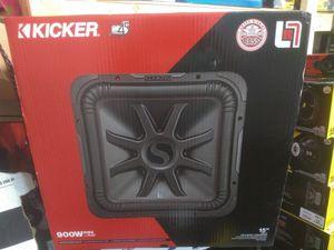 """NEW!!! Kicker L7R 15"""" Subwoofer for Sale in Phoenix, AZ"""
