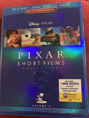 Pixar Short Films Volume 3 for Sale in Newberg, OR