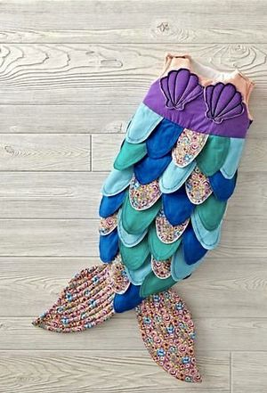 The land of nod mermaid baby girl costume new for Sale in San Diego, CA
