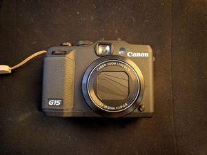 Canon Powershot G15 for Sale in Colma, CA