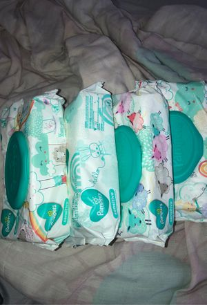 Pampers Sensitive Wipes for Sale in Harrison, NJ