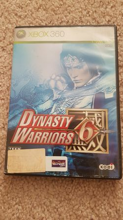 Dynasty warriors 6 on xbox 360 for Sale in Charlottesville,  VA