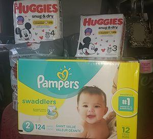 Pampers & Huggies for Sale in Hayward, CA