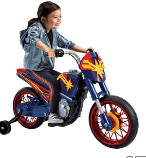 Marvel Captain Marvel 6V Battery-Powered Motorcycle Ride-On Toy by Huffy for Sale in Phoenix, AZ