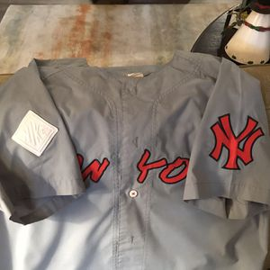 One of a kind NY Yankee Baseball Jersey for Sale in Hillsboro, OR