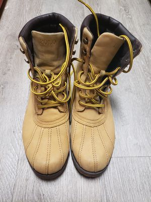 Polo ralph lauren suede boots for Sale in Irving, TX