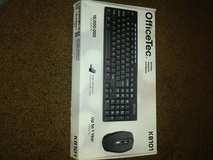 Office tec wireless keyboard for Sale in National City, CA