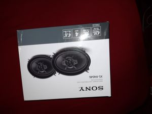 Sony 4 by 6 car speakers never used for Sale in CORP CHRISTI, TX