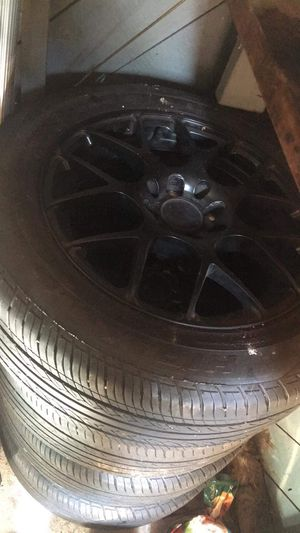 Black rims for Sale in Silver Spring, MD
