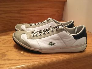 Lacoste shoes size 11 and a half for Sale in Alexandria, VA