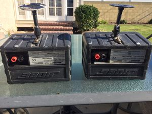 Bose 151 Outdoor Speakers With Wall Mounts for Sale in Lakewood, CA