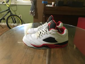 Air Jordan 5 retro low for Sale in Wake Forest, NC