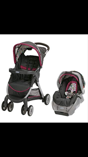 Graco Fastaction Fold Classic Connect Travel System Carseat Stroller Baby for Sale in Philadelphia, PA