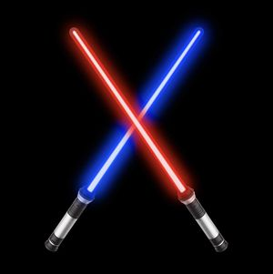 Light Up Laser Sword,Upgrade 2-in-1 LED (7 Colors) FX Dual Saber with Sound (Motion Sensitive) for Warriors and Galaxy War Fighters Stocking Idea, Xm for Sale in La Verne, CA