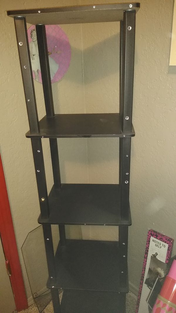 Black small shelf nice fairly new